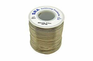 Sra Soldering Products Wbc96 432 Lead Free Acid Core Silver Solder 96 4 Spool