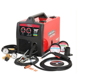 Lincoln 140 Amp Weld Pak Hd Mig Electric Wire Feed Welder With Magnum 100l Gun
