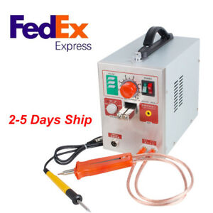 Adjustable Distance Spot Welder Soldering Iron Staion Battery Welding Machine