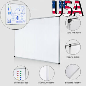 36 x48 Removable Magnetic Whiteboard Wall Dry Erase White Board Office Home Us