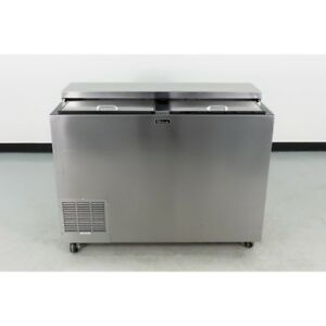 Used Perlick Bc48 48 Stainless Steel Bottle Cooler
