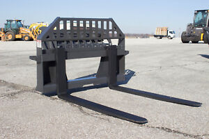 New 48 Heavy Duty Pallet Forks 4 000lb Heat Treated Forks Usa Made