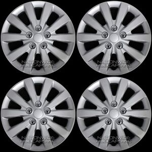 Fits 2013 2018 Nissan Sentra S Sv 16 Wheel Covers Snap On Full Rim Hub Caps R16