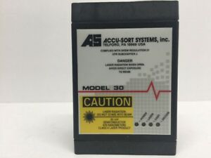 Accu sort Systems Model 30 Barcode Scanning System