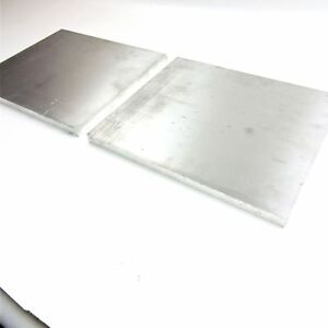 5 Thick 1 2 Aluminum 6061 Plate 13 375 X 15 25 Long Qty 2 Sku 105925