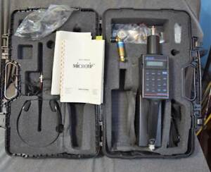 Photovac Microtip Mp 100 Hand Held Air Monitor Photionization Detector W case