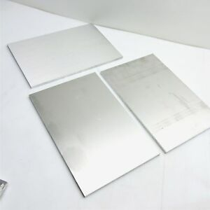 25 Thick 1 4 Aluminum 6061 Plate 9 0625 X 15 875 Long Qty 3 Sku 174400