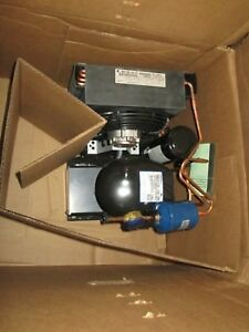 Copeland M2fh 0026 iaa 072 1 4 Hp Refrigeration Condensing Unit R134a New