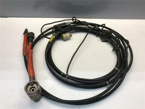 Huck Hydrualic Pump Riveter 1 4 Rivet Tool Puller Squeezer Hose With Cord