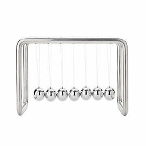 7 Balls Newtons Cradle Stainless Steel Strings Upgraded On Feb 2018