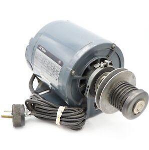 Westinghouse Ac Motor 1 6hp Type Fht 1725 Rpm 115v