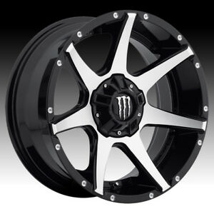 Monster Energy 647mb Black Machined 20x9 6x135 6x5 5 18mm 647mb 2096818