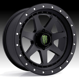 Monster Energy 540b Satin Black 18x9 6x5 5 0mm 540b 8908400