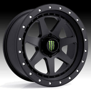 Monster Energy 540b Satin Black 17x8 5 6x135 0mm 540b 7856300