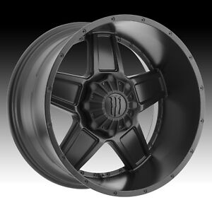 Monster Energy 543b Satin Black 22x12 6x135 6x5 5 44mm 543b 2226844