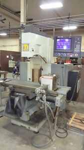 Tree Millennium 4200 Cnc Mill W 4th Axis Smw Rotary Table video