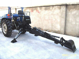 New Pto Backhoe Farm Tractor Attachment Bh6 Bh6600 Category 1 Hitch John Deere