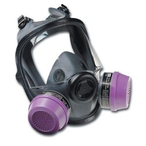 North By Honeywell 068 54001 Series 5400 Full Facepiece Respirator Medium large