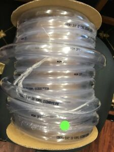 B K 75ft Clear Thick Wall Tubing 3 4 Id X 1 Od Imported Clear Pvc Tubing
