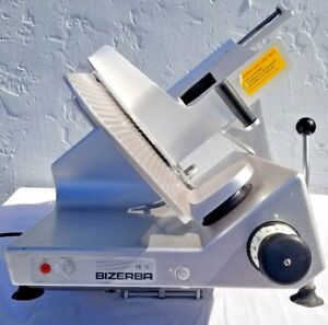 Bizerba Se 12 Us Manual Gravity Feed Deli Meat Cheese Commercial Slicer
