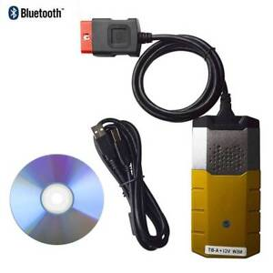 Tcs Cdp Pro Autocom Bluetooth Obdii Scanner Diagnostic Tool For Cars Vehicles
