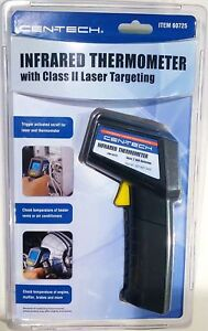 Cen tech Non contact Infrared Thermometer Laser Targeting Surface Temperature