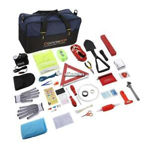 Roadside Emergency Kit Auto Set Car Tool Bag Vehicle Safety Kit Usa