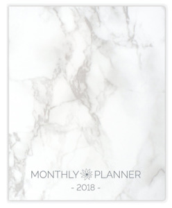 Bloom Daily Planners 2018 Calendar Year Monthly Planner Goal Organizer Month