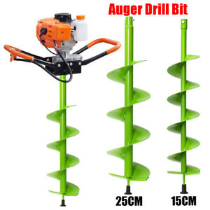 15cm 25cm Auger Bit Electric Post Hole Digging Digger For Soil Ice Fence Decks