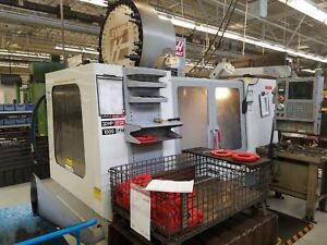 Haas Vf 4d 4th Axis Cnc Vertical Machining Center Mill For Sale