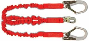 Guardian Fall Protection 01298 4 5 To 6 foot Double Leg With Rebar Hook Ends