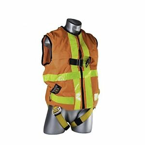 Guardian Fall Protection 02145 Hi vis Construction Tux Harness Xxl