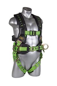 Guardian Fall Protection 193192 Xxl Monster Edge Harness With Side D rings