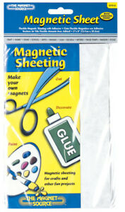 Master Magnetic 07014 5 X 8 Adhesive Magnetic Magnet Sheet