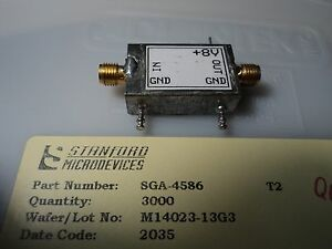 100 X Stanford Microdevices Sige Microwave Mmic Sga4586 Dc 5ghz bonus