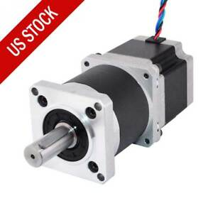 Nema 23 Geared Stepper Motor 100 1 High Precision Planetary Gearbox 2 8a 4 Wires