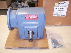 Browning 262q56lr30 Right Angle Speed Reducer Gearbox 30 1 Ratio 1 48 Hp 56c New