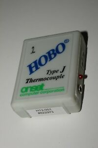 Onset Hobo H12 001 Type J Thermocouple Data Logger