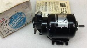 Bodine Nse 11r Fractional Hp Gear Motor 72 1 Ratio 115vac 97 Rpm New