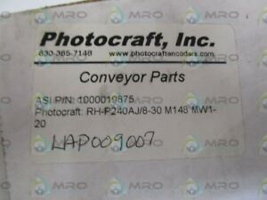 Photocraft Inc Encoder Wheel Rh p240aj 8 30 M148 Mw1 20 new In Box