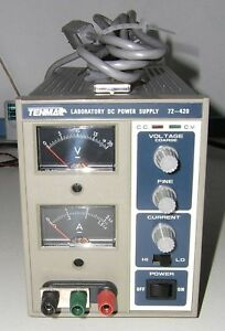Tenma Laboratory Dc Power Supply Model 72 420 0 20 Vdc 3 Adc