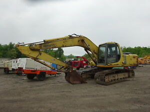 Komatsu Pc200 6 Hydraulic Excavator Runs Exc Low Hours Pc 200 Lc