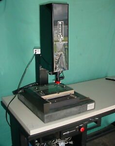 Micro vu 8x6 Optical Comparator Video Measuring System W table Camera Amp