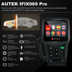 Autek Ifix 969 Pro Obd2 Scanner Car Programming Coding Full System Auto Scanner