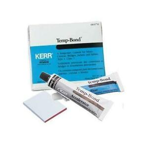 Kerr Dental 61086 Tempbond Zinc Oxide Eugenol Temporary Cement Tubes 50 Gm