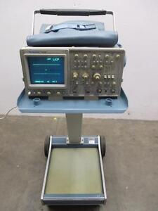 Tektronix 2465 300 Mhz Oscilloscope With Scope mobile Type 200c And Probes