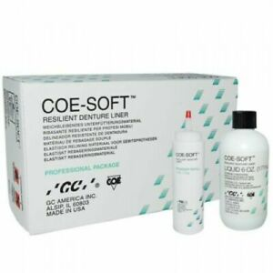 Gc 344001 Coe soft Soft Denture Reline Material Self Cure Professional Pack