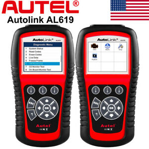 Autel Al619 Diagnostic Tool Car Code Reader Scanner Obd2 Abs Airbag Srs Reset Us