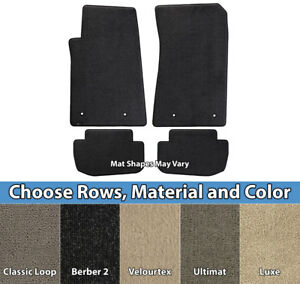 Lloyd Mats Custom Fit Carpet Floor Mats Pick Mat Combos Material