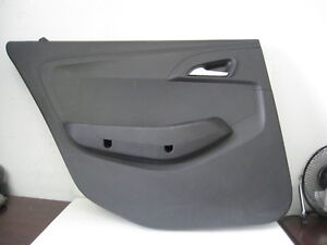 Chevrolet Caprice 2013 Interior Rear Door Panel Black Trim Police Takedown